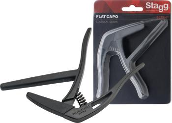 "Flat ""trigger"" capo for classical guitar (ST-SCPX-FL BK)"