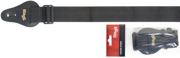 "2"" Black Guitar strap (ST-BJA009)"