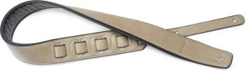 Beige padded leatherette guitar strap (ST-SPFL 30 BEI)