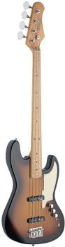 "4-string Custom ""J"" electric bass guitar (ST-SBJ-50 SB)"