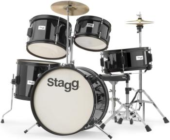 5-pc JUNIOR 16 drum set with hardware (ST-TIM JR 5/16 BK)