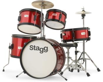 5-pc JUNIOR 16 drum set with hardware (ST-TIM JR 5/16 RD)