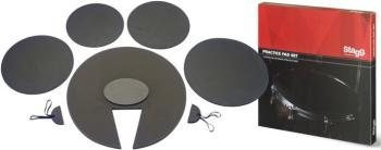5-pc Neoprene practice pad set (ST-DF1222 SET)