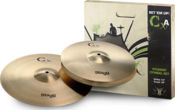 Brass cymbal starter set (ST-CXA SET)