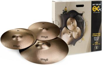 B8 Bronze Cymbal Set for beginners/students (ST-EXK SET)