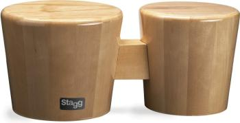 "7.5"" & 6.5"" All-wood ""Cajon"" bongos (ST-BWW10-N)"