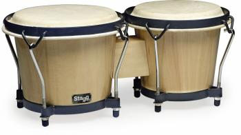 "6"" & 7"" Traditional wooden bongo set (ST-BW-70-N)"