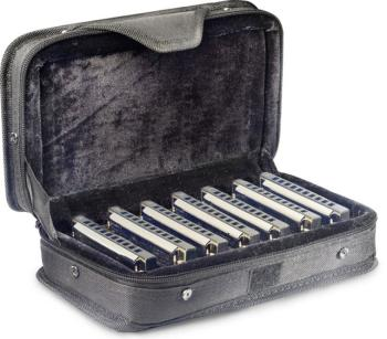 Blues harmonica set with case (ST-BJH-B20 SET1)