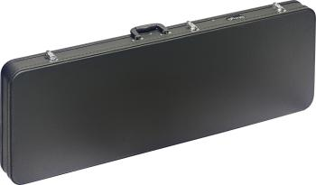 Basic series hardshell case for electric bass guitar, square-shaped mo (ST-GCA-RB)