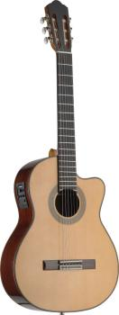 4/4 cutaway acoustic-electric classical guitar with solid class A spru (AN-C1448CFI-S)