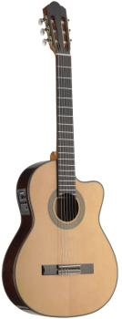 4/4 acoustic-electric classical guitar with thin body and solid class  (AN-C1448TCFI-S)