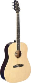 Slope Shoulder dreadnought guitar, natural colour (ST-SA35 DS-N)