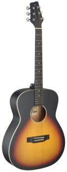 Auditorium guitar with basswood top, sunburst, left-handed model (ST-SA35 A-VS LH)