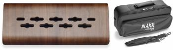 Laminated bended wood support for effects pedals, mini (ST-BX WOOD PB MINI)