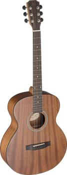 Acoustic auditorium guitar with solid mahogany top, Deveron series (JA-DEV-A)