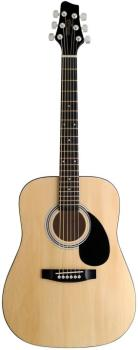 Acoustic Dreadnought Guitar with basswood top, 3/4 model (ST-SW201 3/4 N)