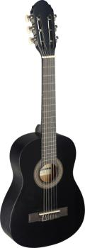 1/4 black classical guitar with linden top (ST-C405 M BLK)