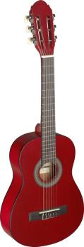 1/4 red classical guitar with linden top (ST-C405 M RED)
