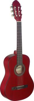 1/2 red classical guitar with linden top (ST-C410 M RED)
