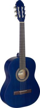 3/4 blue classical guitar with linden top (ST-C430 M BLUE)