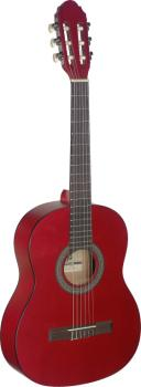 3/4 red classical guitar with linden top (ST-C430 M RED)