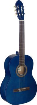 4/4 blue classical guitar with linden top (ST-C440 M BLUE)