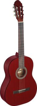 4/4 red classical guitar with linden top (ST-C440 M RED)