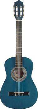 1/2 blue classical guitar with basswood top (ST-C510 BL)