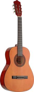 3/4 natural-coloured classical guitar with basswood top (ST-C530)