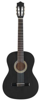 3/4 black classical guitar with basswood top (ST-C530 BK)