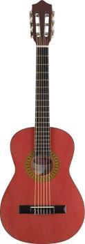 3/4 transparent red classical guitar (ST-C530 TR)