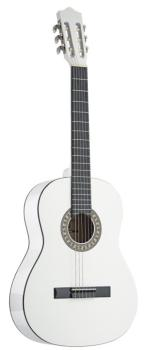 3/4 white classical guitar with basswood top (ST-C530 WH)