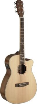 Asyla series 4/4 cutaway auditorium acoustic-electric guitar with soli (JA-ASY-ACE)