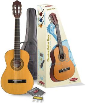 C505 1/4 Classical guitar (w/ basswood top) & accessories package (ST-C505 PACK)