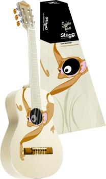 Classical guitar with monkey graphic (ST-C505 MONKEY)