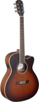 4/4 cutaway acoustic-electric orchestra guitar with solid cedar top, E (JA-EZR-OMCFI)