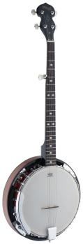 5-string Western Banjo Deluxe with wood pot (ST-BJW24 DL)