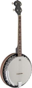 4-string Bluegrass Banjo Deluxe with metal pot (ST-BJM30 4DL)