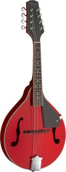 Red bluegrass mandolin with basswood top (ST-M20 RED)