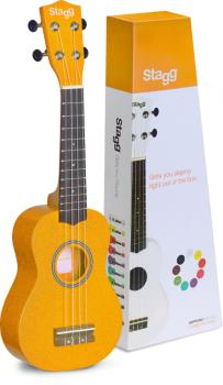 Soprano ukulele in black nylon gigbag (ST-US-LEMON)