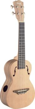 Exotic series, traditional tenor ukulele with solid cedar top (ST-UTX-ZEB-S)