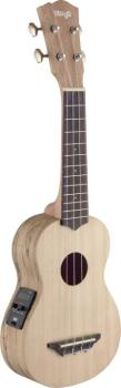 Traditional electro-acoustic soprano ukulele with solid spruce top (ST-USX-SPA-SE)