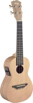 Traditional electro-acoustic concert ukulele with solid spruce top (ST-UCX-SPA-SE)