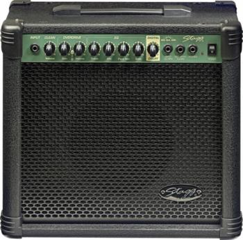 20 W RMS Guitar Amplifier with digital reverb (ST-20 GA DR USA)