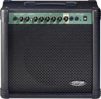 40 W RMS 2-channel Guitar Amplifier with spring reverb (ST-40 GA R USA)