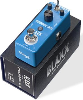 2-mode Overdrive effect pedal for electric guitar (ST-BX-DRIVE B)