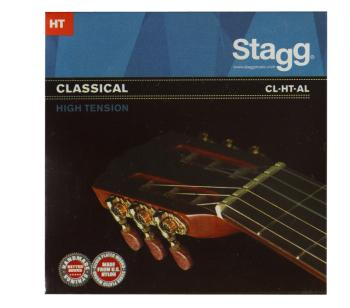 Nylon/ silver plated wound set of strings for classical guitar (ST-CL-HT-AL)