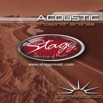 Phoshor-bronze string set for 12-string Acoustic guitar (ST-AC-12ST-PH)