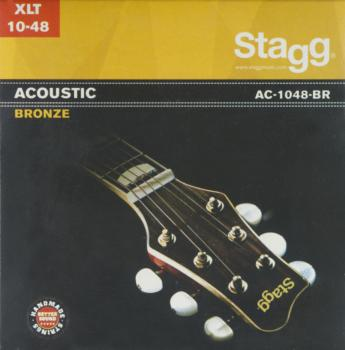 Bronze set of strings for acoustic guitar (ST-AC-1048-BR)