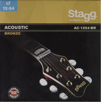 Bronze set of strings for acoustic guitar (ST-AC-1254-BR)